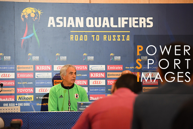 Press Conference and Official Training Sessions prior to the 2018 FIFA World Cup Russia Asian Qualifiers Final Qualification Round Group B match between Japan and Iraq at Saitama Stadium 2002 on 05 October 2016, in Saitama, Japan. Photo by Kenta Harada / Lagardere Sports