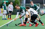 AMSTELVEEN - Diede van Puffelen (R'dam)   tijdens de hoofdklasse competitiewedstrijd heren, AMSTERDAM-ROTTERDAM (2-2). . COPYRIGHT KOEN SUYK