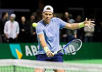 Rotterdam, Netherlands, 11 februari, 2018, Ahoy, Tennis, ABNAMROWTT, Practise, Thomas Berdych (CZE)<br /> Photo: Henk Koster/tennisimages.com