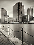 Canary Wharf, London, office buildings