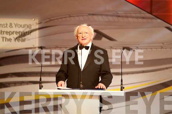 The Ernst & Young Entrepreneur awards in Citywest Hotel, Dublin on Thursday Night.