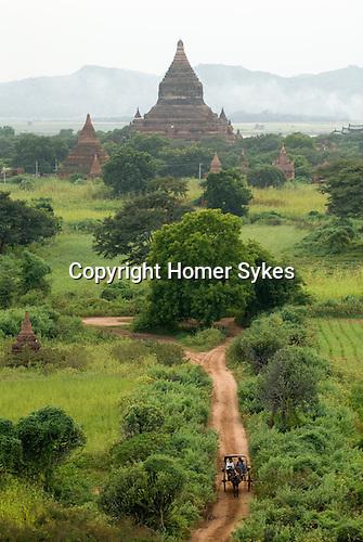 Bagan. Myanmar Burma 2006.