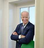 """United States Vice President Joe Biden attends a bilateral meeting in the Oval Office between US President Barack Obama and King Salman bin Abdulaziz Al Saud of Saudi Arabia at the White House September 4, 2015 in Washington, D.C. Vice President Joe Biden said Thursday that he """"would not hesitate"""" to run for president if his family can handle it. <br /> Credit: Olivier Douliery / Pool via CNP"""