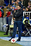 Leganes coach Juan Ramon Lopez Muniz vs Villarreal during Copa del Rey match. 20180104.