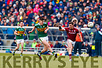 Séan O'Shea Kerry in action against Shane Walsh Galway in the Allianz Football League Division 1 Round 4 match between Kerry and Galway at Austin Stack Park, Tralee, Co. Kerry.