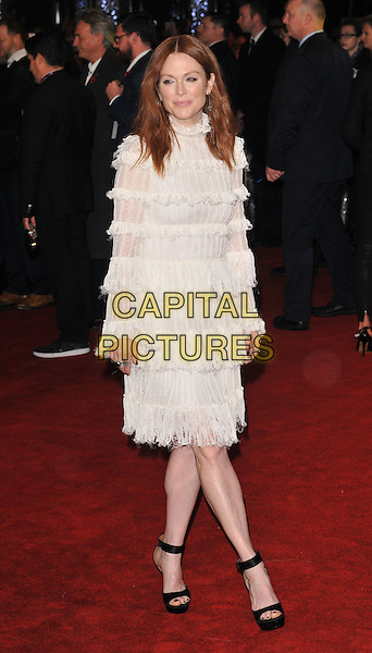 Julianne Moore attends the &quot;The Hunger Games: Mockingjay Part 2&quot; UK film premiere, Odeon Leicester Square, Leicester Square, London, England, UK, on Thursday 05 November 2015. <br /> CAP/CAN<br /> &copy;Can Nguyen/Capital Pictures