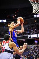 Jeremy Lin of the New York Knicks.  Alan P. Santos/DC Sports Box
