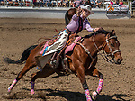 Shyanne Clopton 2019 Oakdale rodeo queen at the 68th annual Oakdale Saddle Club Rodeo on Sunday, April 14, 2019.  (Al Golub/Record Photo)