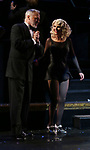 """Christie Brinkley kicks off her third run as """"Roxie Hart"""" in CHICAGO on Broadway with Tom Hewitt at the the Ambassador on April 18, 2019 in New York City."""