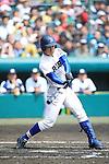 Shota Nakayama (Riseisha),<br /> APRIL 2, 2014 - Baseball :<br /> 86th National High School Baseball Invitational Tournament final game between Ryukoku-Dai Heian 6-2 Riseisha at Koshien Stadium in Hyogo, Japan. (Photo by Katsuro Okazawa/AFLO)