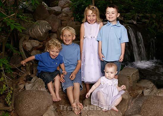 Olson family photos.<br />