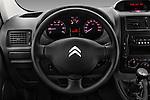 Car pictures of steering wheel view of a 2015 Citroen JUMPY-MULTISPACE Attraction-l2h1 5 Door Combi Steering Wheel