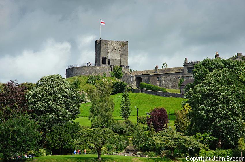 Clitheroe Castle, Clitheroe, Lancashire.