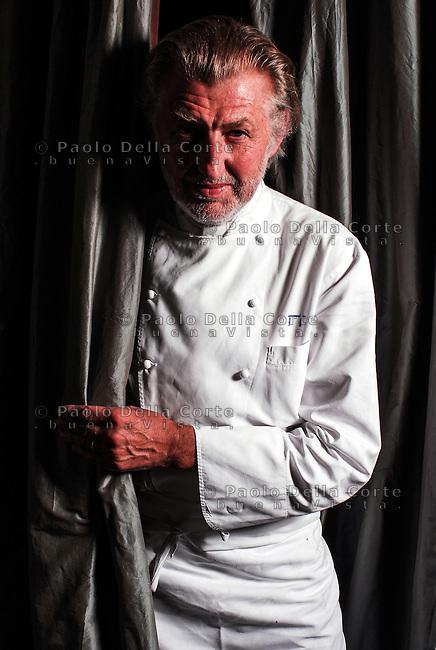 Paris Rest Pierre Gagnaire chef Pierre Gagnaire<br /> &copy; Paolo della Corte