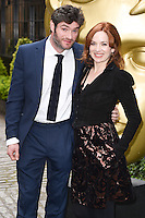 Harry Peacock and Katherine Parkinson<br /> arrives for the BAFTA TV Craft Awards 2016 at the Brewery, Barbican, London<br /> <br /> <br /> &copy;Ash Knotek  D3109 24/04/2016