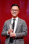 """You Xing, November 05, 2019 - You Xing, speak after winning """"Asian Future Best Film Award"""" for the film """"Summer Knight""""during the 32nd Tokyo International Film Festival, award ceremony, in Tokyo, Japan on November 05, 2019. (Photo by 2019 TIFF/AFLO)"""