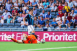 Stockholm 2014-07-07 Fotboll Allsvenskan Djurg&aring;rdens IF - IF Elfsborg :  <br /> Situationen mellan Djurg&aring;rdens Erton Fejzullahu och Elfsborgs m&aring;lvakt Kevin Stuhr-Ellegaard n&auml;r Djurg&aring;rden f&aring;r straff i en f&ouml;rsta halvleken<br /> (Foto: Kenta J&ouml;nsson) Nyckelord:  Djurg&aring;rden DIF Tele2 Arena Elfsborg IFE