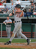 August 14, 2003:  Nate Doyle of the Oneonta Tigers during a game at Doubleday Field in Auburn, New York.  Photo by:  Mike Janes/Four Seam Images