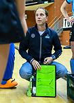 Almere - Zaalhockey  Amsterdam-HGC (v) . coach Robbert Jan de Vos (HGC)    .  TopsportCentrum Almere.    COPYRIGHT KOEN SUYK