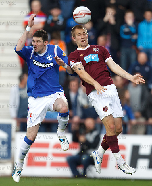 Kyle Lafferty and Danny Grainger