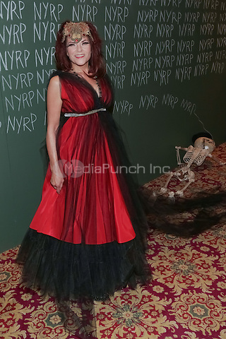 "NEW YORK, NY - OCTOBER 31 : Singer/Songwriter Rosanne Cash arrives for the New York Restoration Project's 19th Annual Hulaween Gala ""FELLINI HULAWEENI"" held at the Waldorf Astoria on October 31, 2014 in New York City.  (Photo by Brent N. Clarke / MediaPunch)"