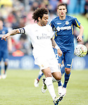 Real Madrid's Marcelo Vieira during La Liga match. April 16,2016. (ALTERPHOTOS/Acero)