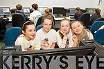 Pictured at the ITT CH Computer code programming class on Fridayl-r: Kay De Barra, Róisín Ní Choileáin, Éabha Ní Mhurchú and Aoife Ní Dhonnchú...
