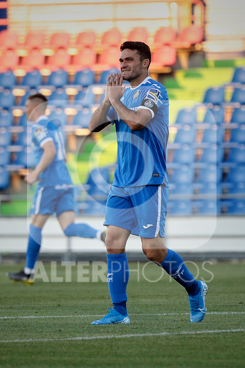 Getafe CF's Jorge Molina during Preseason match between Getafe CF and Crotone FC at Colisseum Alfonso Perez in Getafe, Spain. August 02, 2019. (ALTERPHOTOS/A. Perez Meca)