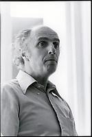 Gilles Vigneault circa80 (date inconnue)<br /> <br /> PHOTO : Patry<br />  - Agence Quebec Presse