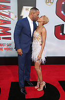 "29 March 2019 - Hollywood, California - Meagan Good, DeVon Franklin. Warner Bros. Pictures And New Line Cinema's World Premiere Of ""SHAZAM!""  held at TCL Chinese Theatre IMAX. <br /> CAP/ADM/FS<br /> ©FS/ADM/Capital Pictures"