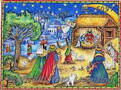HOLY FAMILIES, HEILIGE FAMILIE, SAGRADA FAMÍLIA, paintings+++++,KL6097,#xr#