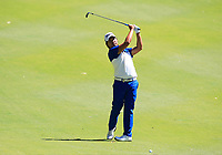 Poom Saksansin (THA) in action on the 10th during Round 3 of the ISPS Handa World Super 6 Perth at Lake Karrinyup Country Club on the Saturday 10th February 2018.<br /> Picture:  Thos Caffrey / www.golffile.ie<br /> <br /> All photo usage must carry mandatory copyright credit (&copy; Golffile | Thos Caffrey)