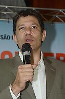 SAO PAULO, 11 DE JUNHO DE 2012 - HADDAD CONVERSANDO SAO PAULO - Candidato Fernando Haddad em reuniao com empresarios, lideres cominitarios e comerciantes o da Vila Mariana, na Associacao Mie Kenjin, regiao central da capital. O evento faz partte de uma serie realizada pelo candidato pela cidade chamada Conversa Sao Paulo. FOTO: ALEXANDRE MOREIRA - BRAZIL PHOTO PRESS