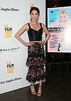SANTA MONICA, CA - JUNE 16: Melissa Bolona at the premiere of The Year Of Spectacular Men during the 2017 Los Angeles Film Festival at The Arclight in Santa Monica, California on June 16, 2017. Credit: Faye Sadou/MediaPunch
