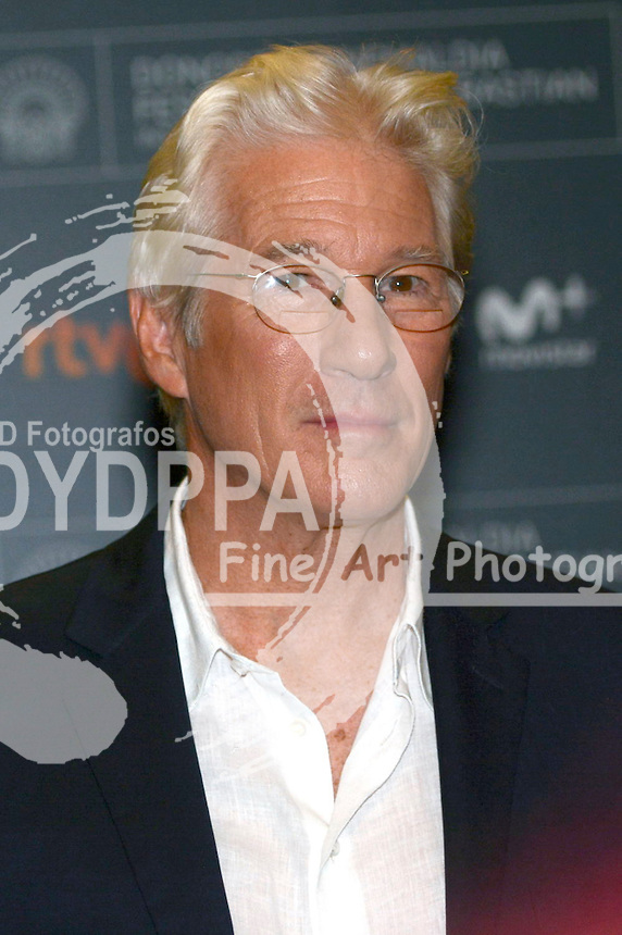 Richard Gere bei der Pressekonferenz zu 'Time Out of Mind' auf dem 64. Internationalen Filmfestival San Sebastian / Festival Internacional de Cine de Donostia-San Sebastián, 24.09.2016