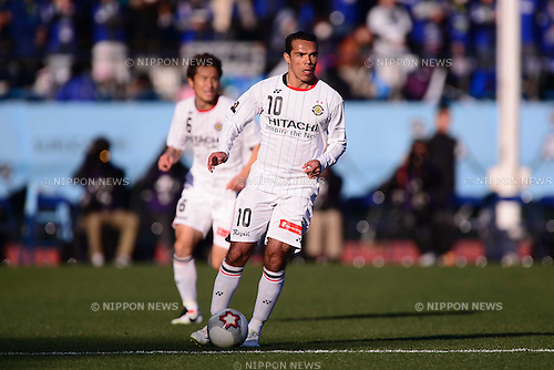 Leandro Domingues (Reysol), JANUARY 1, 2013 - Football / Soccer : The 92th Emperor's Cup Final match between Gamba Osaka 0-1 Kashiwa Reysol at National Stadium, in Tokyo, Japan. (Photo by AFLO)