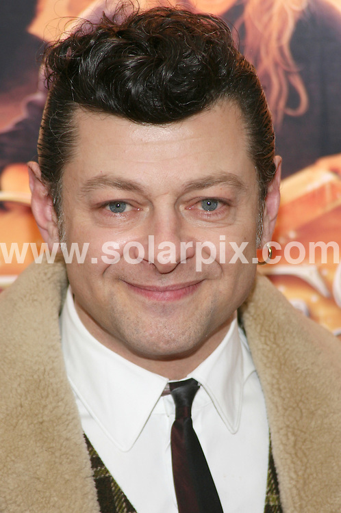 "**ALL ROUND PICTURES FROM SOLARPIX.COM**.**SYNDICATION RIGHTS FOR UK, AUSTRALIA, DENMARK, PORTUGAL, S. AFRICA, SPAIN & DUBAI (U.A.E) ONLY**.The ""Inkheart"" New York film Premiere  Arrivals at the  AMC Loews Lincoln Square, 1998 Broadway in New York City, New York in the USA..This pic: Andy Serkis..JOB REF:8243-PHZ/Gaboury    DATE:15-01-09 .**MUST CREDIT SOLARPIX.COM OR DOUBLE FEE WILL BE CHARGED* *UNDER NO CIRCUMSTANCES IS THIS IMAGE TO BE REPRODUCED FOR ANY ONLINE EDITION WITHOUT PRIOR PERMISSION*"