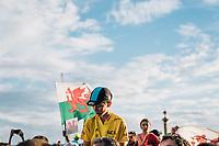 Picture by Russell Ellis/russellis.co.uk/SWpix.com - image archived on 25/04/2019 Cycling Tour de France 2018 - Team Sky at the Tour de France - STAGE 21: HOUILLES - PARIS Champs-Elysées 29/07/2018<br /> - Cycling Fans