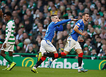 29.12.2019 Celtic v Rangers: Ryan Kent celebrates his goal