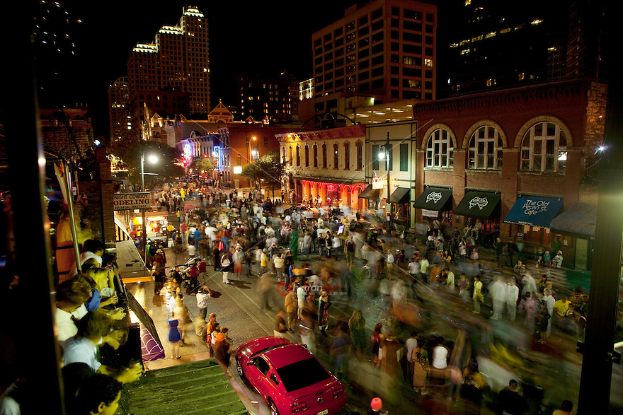 6th Street was formerly named Pecan Street under Austin's older naming convention, which had east-west streets named after trees and north-south streets named after Texas rivers (the latter convention remains in place). The area around nearby 4th Street and 6th Street is the heart of the Austin entertainment district. Many bars, clubs, music venues, and shopping destinations are located on E. 6th Street between Congress Avenue and Interstate 35 and many offer live music at one time or another during the week.