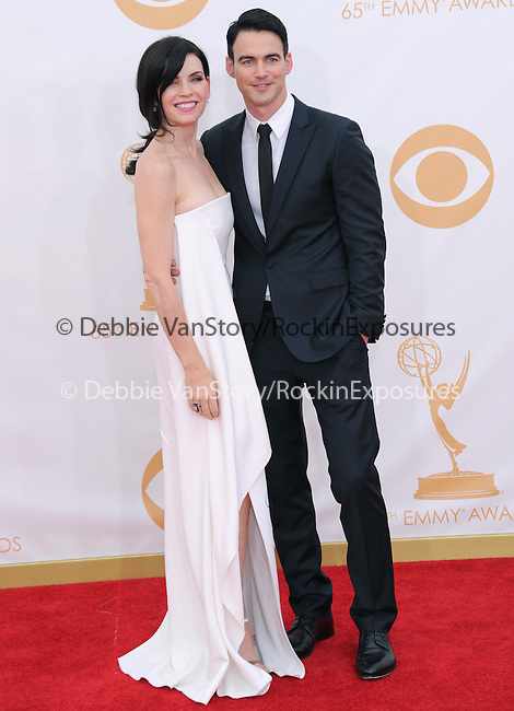 Julianna Margulies and Keith Lieberthal attends 65th Annual Primetime Emmy Awards - Arrivals held at The Nokia Theatre L.A. Live in Los Angeles, California on September 22,2012                                                                               © 2013 DVS / Hollywood Press Agency