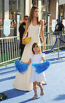 "Alessandra Ambrosio and daughter at the World Premiere of  ""Monsters University"" at the El Capitan Theatre in Los Angeles on June 17, 2013"