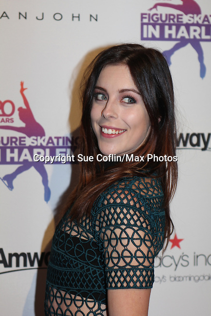 Ashley Wagner - Figure Skating in Harlem celebrates 20 years - Champions in Life benefit Gala on May 2, 2017 in New York Ciry, New York.   (Photo by Sue Coflin/Max Photos)