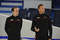 SCHAATSEN: HEERENVEEN: 15-09-2017, IJSSTADION THIALF, Topsporttraining, Martin en Erwin ten Hove, ©foto Martin de Jong