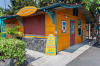 Kahalu'u Surf & Sea Rentals shop, Kailua-Kona, Big Island.