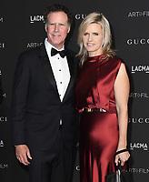 03 November 2018 - Los Angeles, California - Will Ferrell, Viveca Paulin. 2018 LACMA Art + Film Gala held at LACMA.  <br /> CAP/ADM/BT<br /> &copy;BT/ADM/Capital Pictures