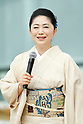 Sayuri Ishikawa, <br /> JULY 24, 2017 : <br /> Event for Tokyo 2020 Olympic and Paralympic games is held <br /> at Toranomon hills in Tokyo, Japan. <br /> &quot;TOKYO GORIN ONDO&quot; will be renewed as &quot;TOKYO GORIN ONDO - 2020 -&quot;.<br /> (Photo by Yohei Osada/AFLO SPORT)
