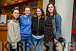 Ava Russell, Alannah Culloty, Alisa Culloty and Megan Culloty at Tralee Musical Society's 'Jesus Christ Superstar' in Siamsa Tíre on Saturday night