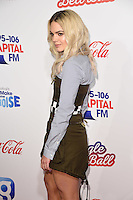 LONDON, UK. December 3, 2016: Louisa Johnson at the Jingle Bell Ball 2016 at the O2 Arena, Greenwich, London.<br /> Picture: Steve Vas/Featureflash/SilverHub 0208 004 5359/ 07711 972644 Editors@silverhubmedia.com