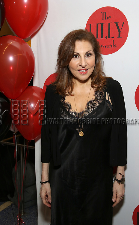 Kathy Najimy attends the The Lilly Awards  at Playwrights Horizons on May 22, 2017 in New York City.